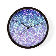 Glitter 2 Wall Clock