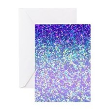 Glitter 2 Greeting Card