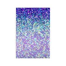 Glitter 2 Rectangle Magnet