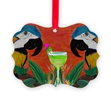 Parrot head Ornament