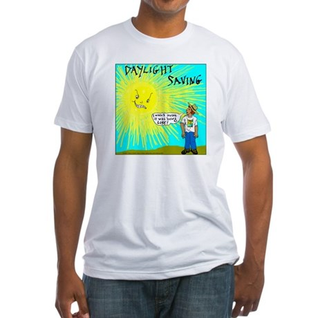 Daylight Saving Fitted T-Shirt