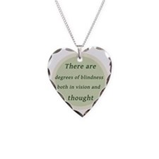 Degrees of Blindess Necklace