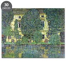 Schloss Kammer By Gustav Klimt Puzzle