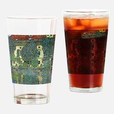 Schloss Kammer By Gustav Klimt Drinking Glass