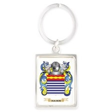 Haden Coat of Arms (Family Crest Portrait Keychain