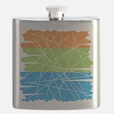 MCM Art 3 Flask