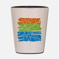 MCM Art 3 Shot Glass
