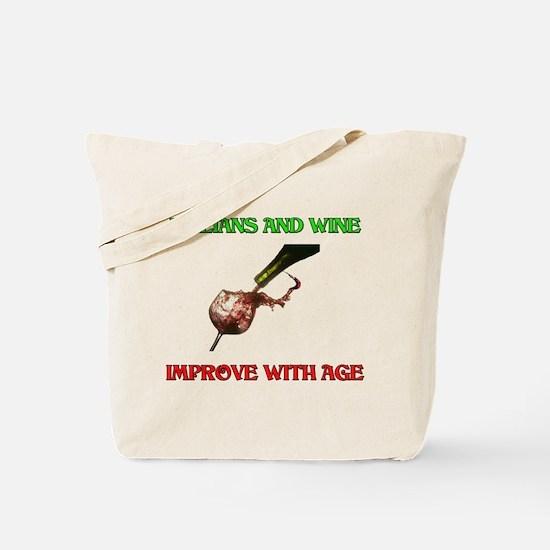 Italians And Wine Improve Wit Tote Bag