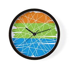 MCM Art 3 Wall Clock