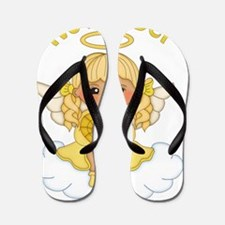 November Birth Girl Flip Flops