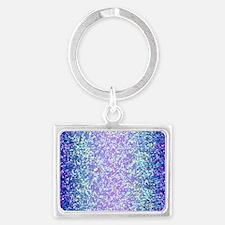 Glitter 2 Landscape Keychain