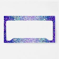 Glitter 2 License Plate Holder