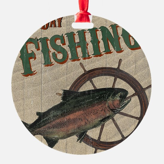 All Day Fishing Ornament