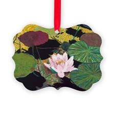 Steamy Pond Picture Ornament
