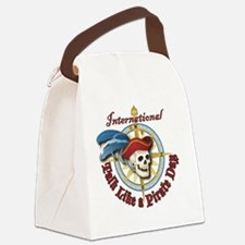 Talk Like a Pirate classic button Canvas Lunch Bag