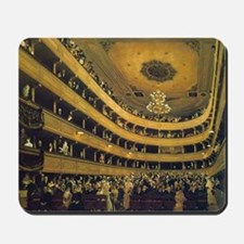 Old Burgtheater by Gustav Klimt Mousepad