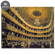 Old Burgtheater by Gustav Klimt Puzzle