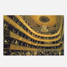 Old Burgtheater by Gustav Postcards (Package of 8)