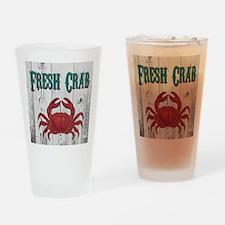 Fresh Crab Drinking Glass