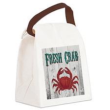 Fresh Crab Canvas Lunch Bag