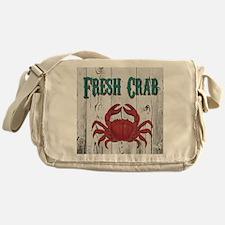 Fresh Crab Messenger Bag