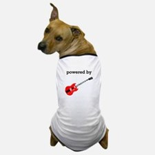 Powered By Electric Guitar Dog T-Shirt