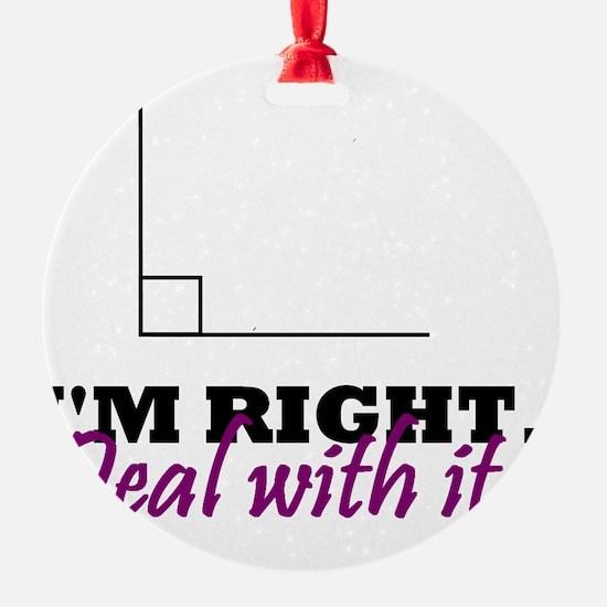 Im Right Ornament