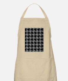 Houndstooth Grey Apron