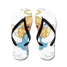 March Birth Girl Flip Flops
