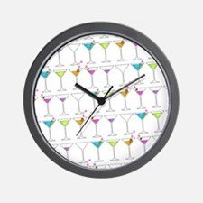 GOING GONE MARTINIS Wall Clock