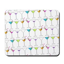 GOING GONE MARTINIS Mousepad
