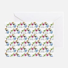PARTY GLASSES Greeting Card