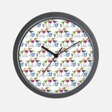 PARTY GLASSES Wall Clock