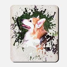 Tri-color Corgi Dog Mousepad
