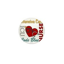 ICU Nurse Mini Button