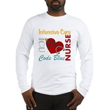 ICU Nurse Long Sleeve T-Shirt