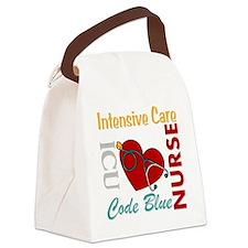 ICU Nurse Canvas Lunch Bag