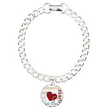 ICU Nurse Charm Bracelet, One Charm