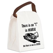 There is no T in HEARSE Canvas Lunch Bag