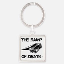 RAMP OF DEATH Square Keychain