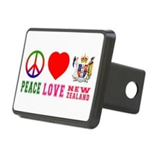 Peace Love New Zealand Hitch Cover