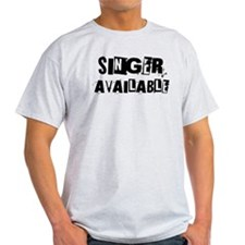 Singer Available T-Shirt