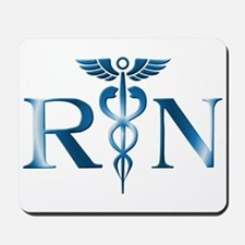 RN Nurse Caduceus Mousepad
