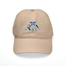 RN Nurse Caduceus Baseball Cap
