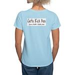 """""""Girls Kick Ass"""" Light T-Shirt"""