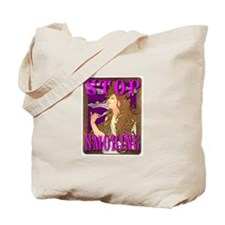 Stop Smoking Art Nouveau Tote Bag