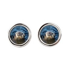 Alaska Sea Otter Cufflinks