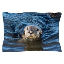 Alaska Sea Otter Pillow Case