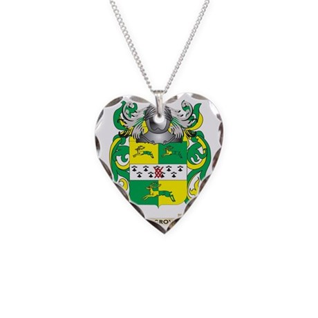 Hargroves Coat of Arms (Famil Necklace Heart Charm
