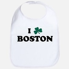 I Shamrock BOSTON Bib